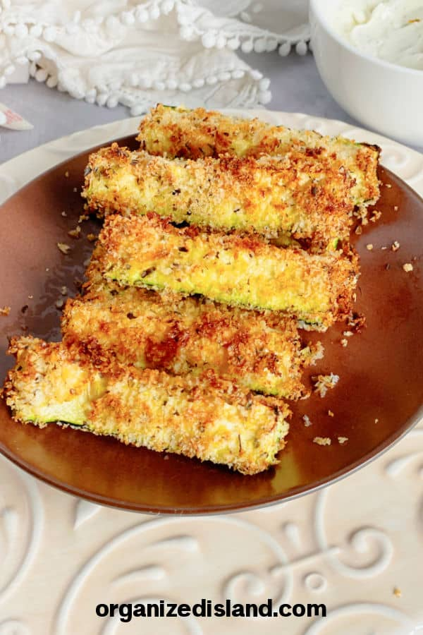 Air Fryer Zucchini sticks