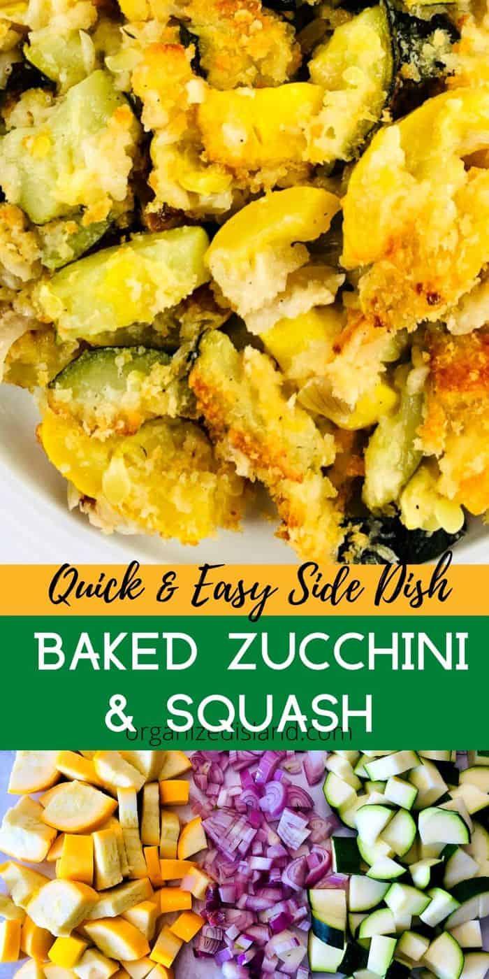 Baked Zucchini and Squash Casserole