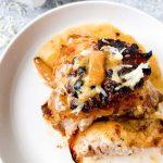 French Onion Chicken Recipe Card