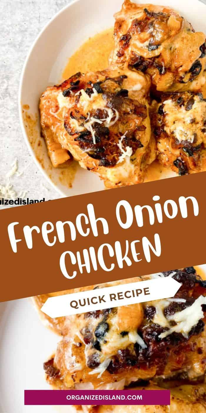 French Onion Skillet Dinne