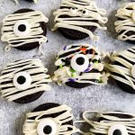 Halloween Cookies Mummies.
