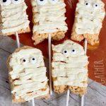 mummy treats on a stick