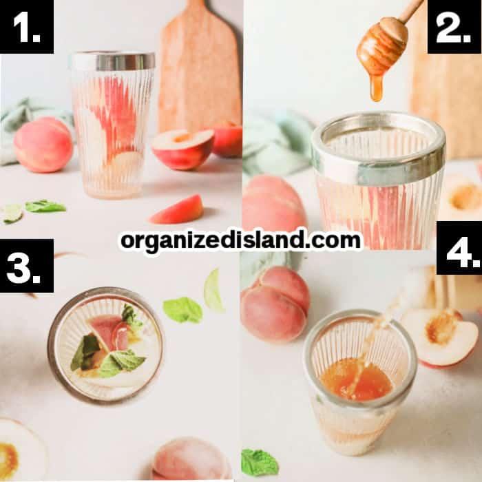 How To Make A Peach Bourbon Smash