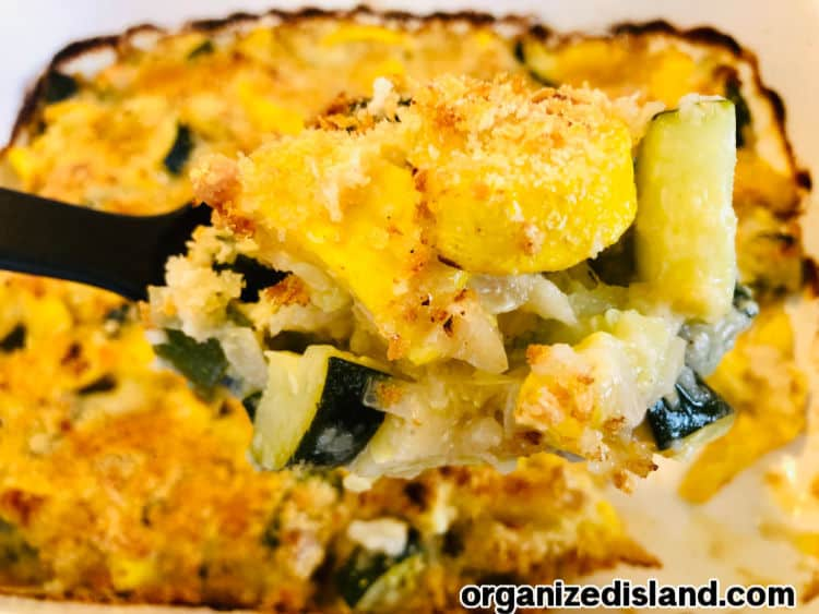 How To Make Baked Zucchini and Squash Parmesan