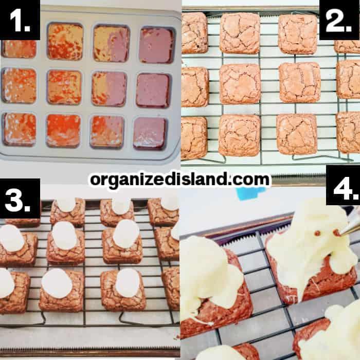 How To Make Halloween Brownies
