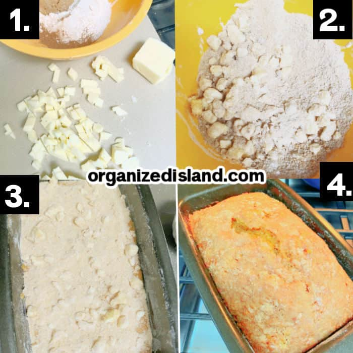 Steps How To Make Topping for Pumpkin Bread