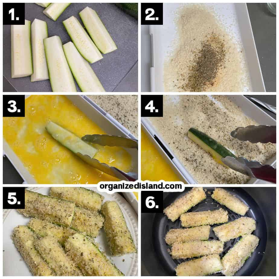 How To Make Zucchini Fries in the Air Fryer