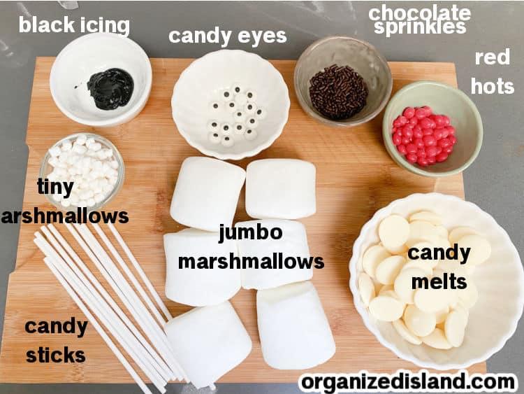 Monster Halloween Marshmallow treats