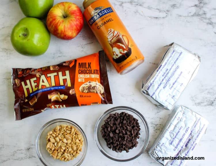 Caramel Apple Dip Ingredients