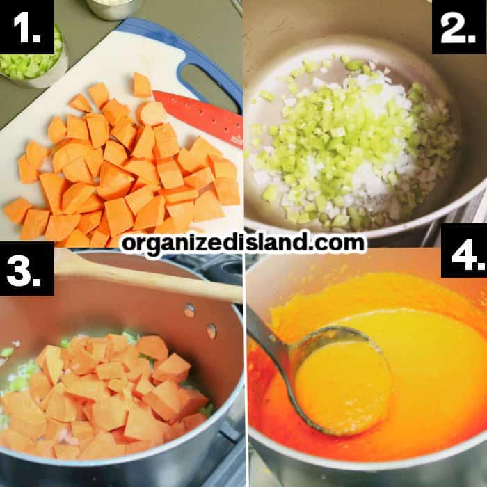 How To Make Sweet Potato Soup