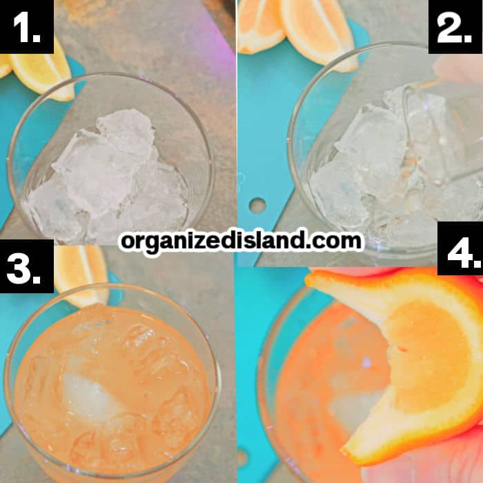 Steps How to Make Apple Whiskey Sour