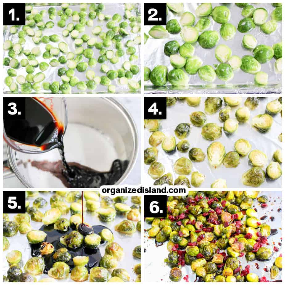 How To Make Brussels Sprouts with Cranberries