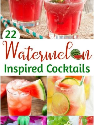 Watermelon Cocktail Recipes