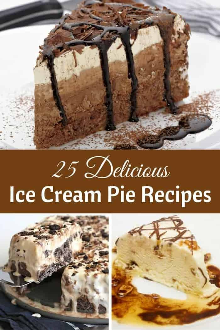 If you are looking for some Ice Cream Pie recipes, there are a ton of them here!