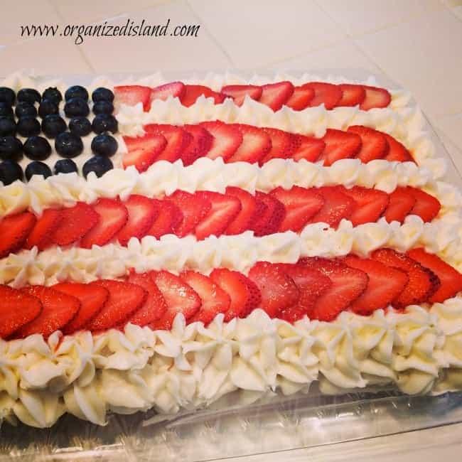 red-white-blue-cake