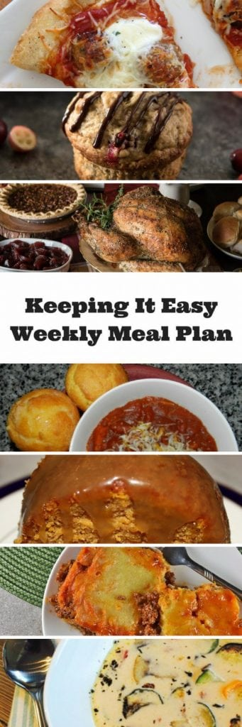 Budget meal plan dnner ideas for the week - perfect for menu planning!