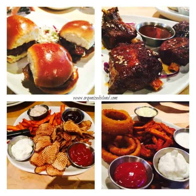 Appetizers and Sides at Stacked