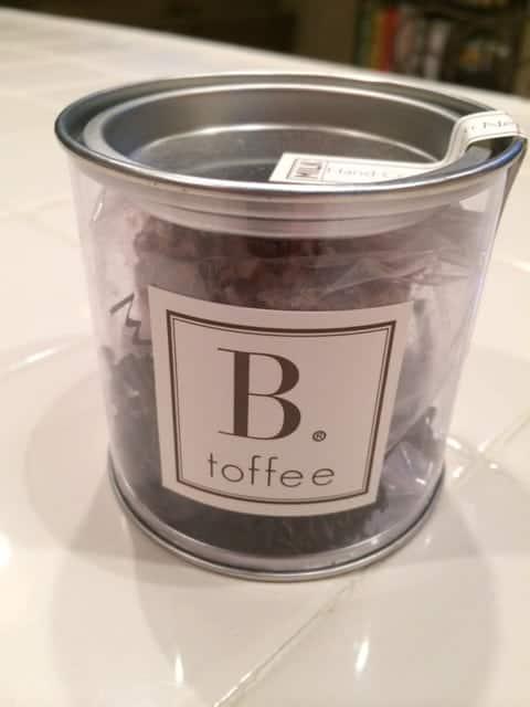 B Toffee gift idea