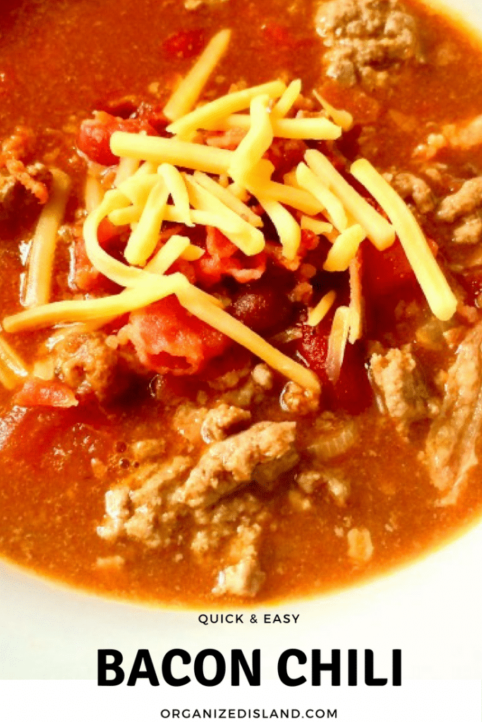 Easy Bacon Chili Recipe
