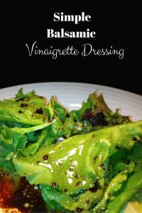 You won't want to buy Balsamic Vinaigrette Dressing once you have made your own! Fresher and cheaper to make too!