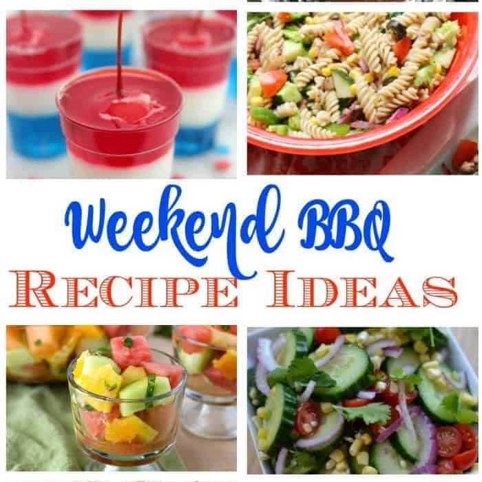 Recipes for A Memorial Weekend BBQ