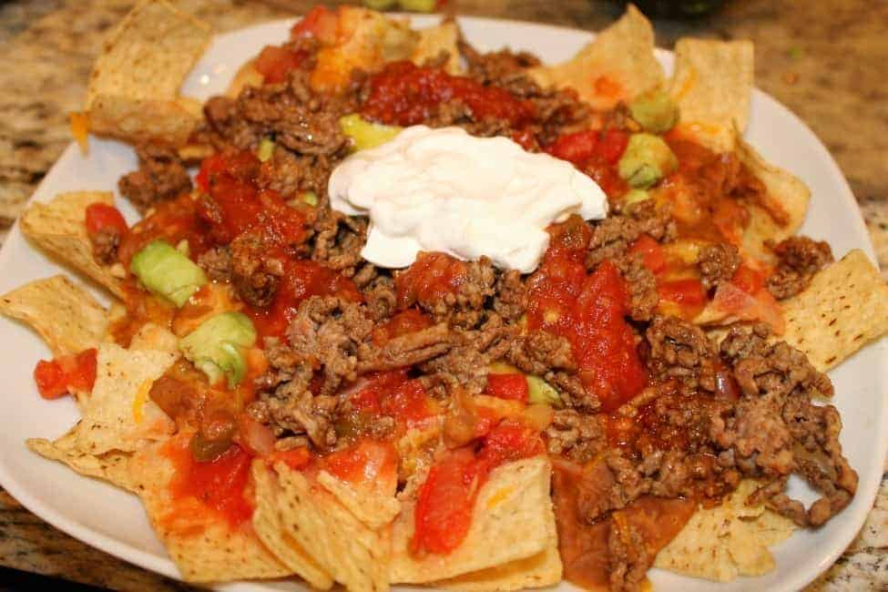 Really Quick Homemade Nacho Recipe