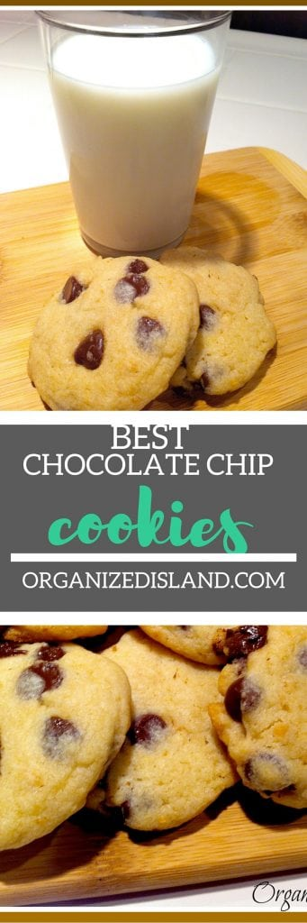 This is truly the best ever chocolate chip cookie recipe I have tried in thirty years of baking. Given to me by a friend whose father was a bakery chef!