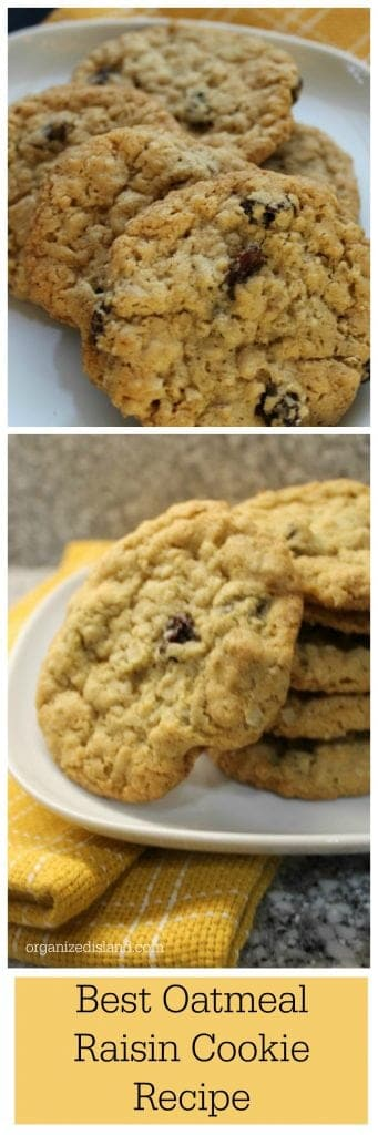 After modifying several recipes, this really is the best oatmeal raisin cookie recipe I have found.