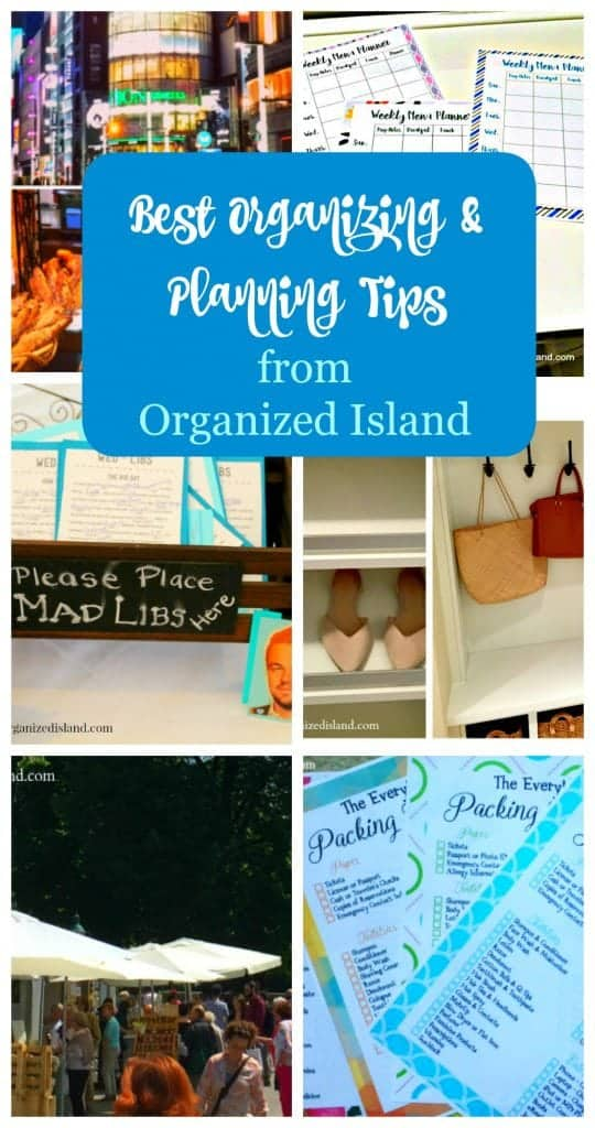 A round up of the best planning and organization tips from 2016.
