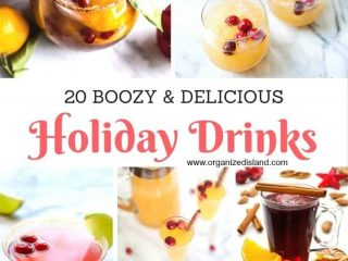 Looking for Holiday Cocktail Recipes? I have 20 for your next holiday party!!