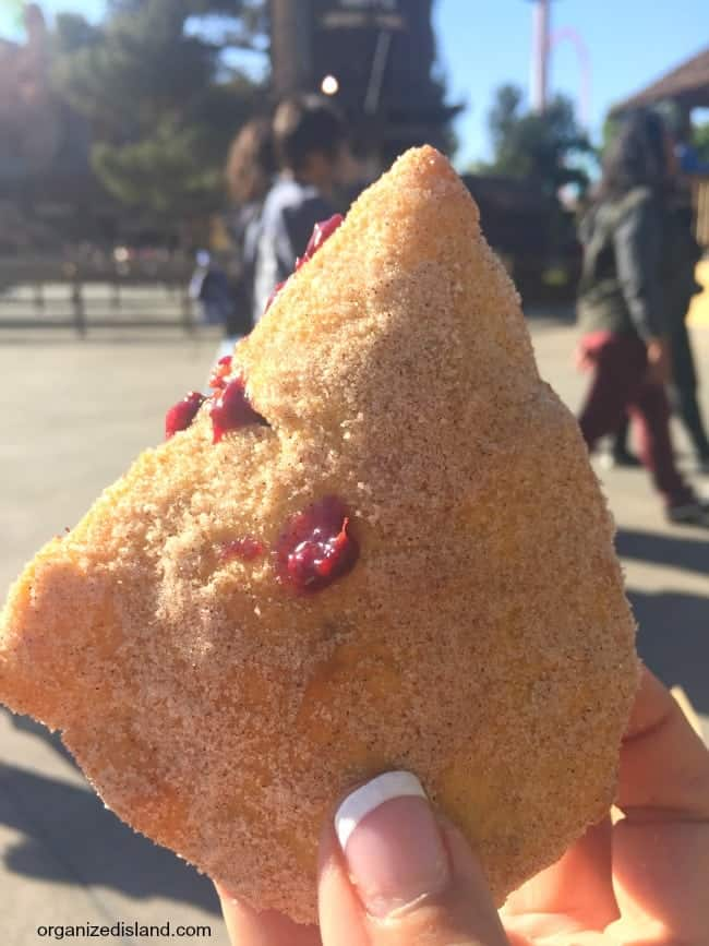 Boysenberry Fry Bread at Boysenberry festival.