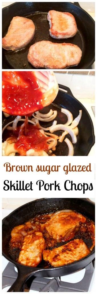 Brown Sugar Glazed Pork Chops