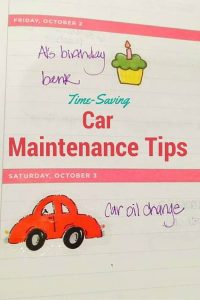 Car maintenance time-saving tips to take care of your car.