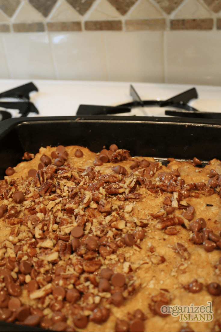 This Caramel Pecan Bar recipe will be a favorite. They are so good and incredibly addicting.