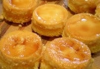 Flan Cupcakes - the sweet taste of caramel and custard in a delightful cupcake! Fun for dessert or a fiesta!