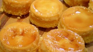 Flan Cupcakes - the sweet taste of caramel and custard in a delightful cupcake! Fun for dessert or a fiesta!