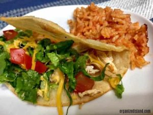 These quick weeknight chicken tacos are perfect for those busy evenings when you need to get dinner on the table