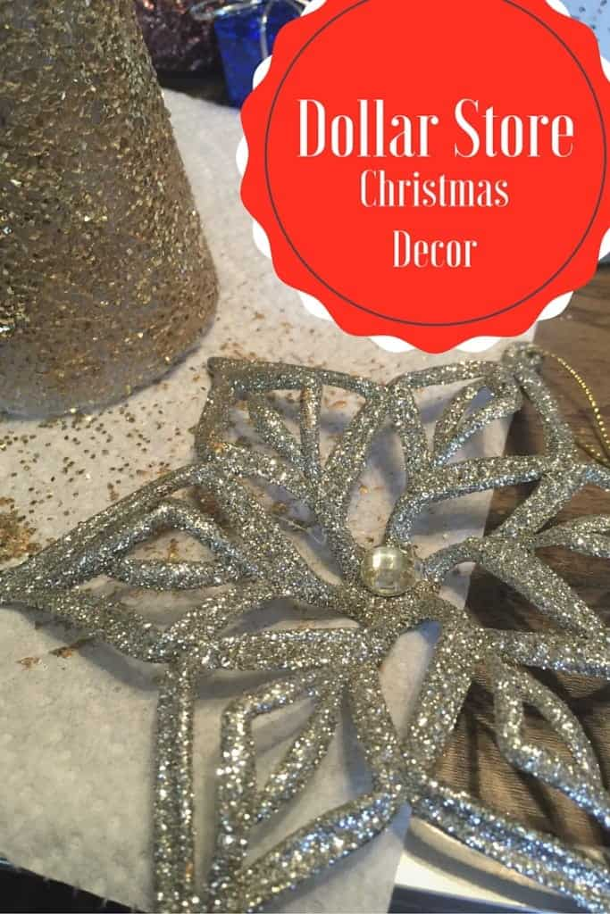 Dollar Store Craft Ideas for Christmas! Decorate your home with these inexpensive supplies!