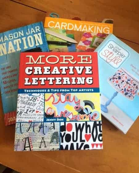 The DIY Crafts are great in these books!