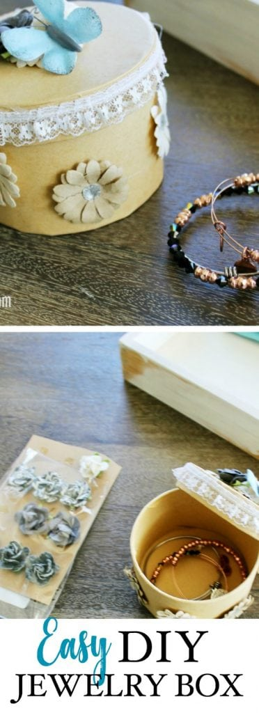 DIY Jewelry Box gift idea