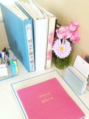 Home Office Desktop Organization Tips