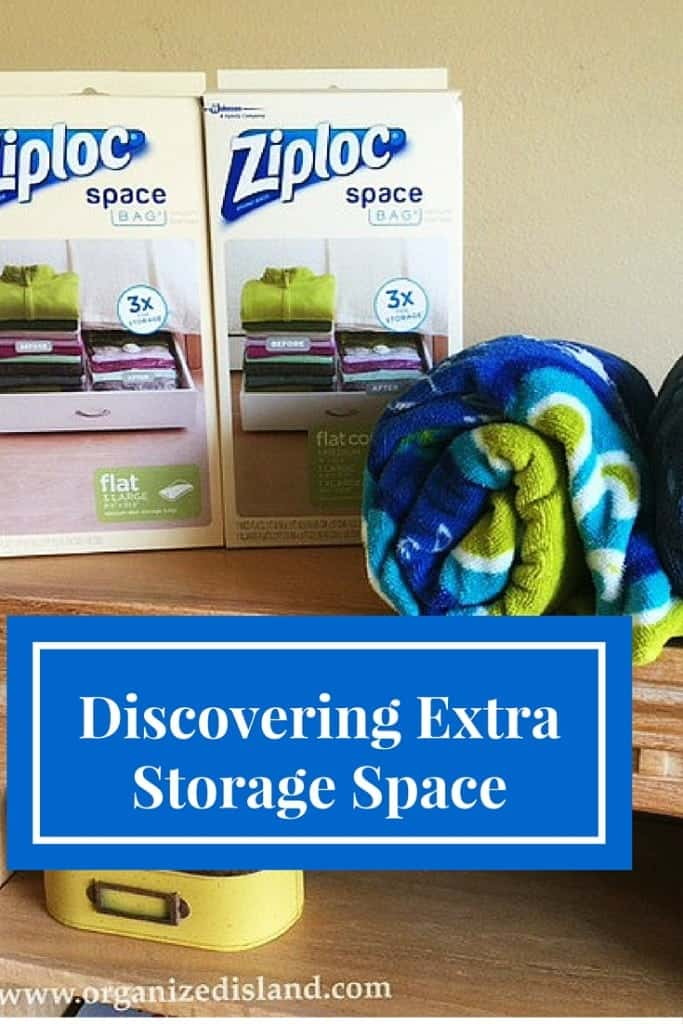 Tips to help you find a little more storage space in your home!