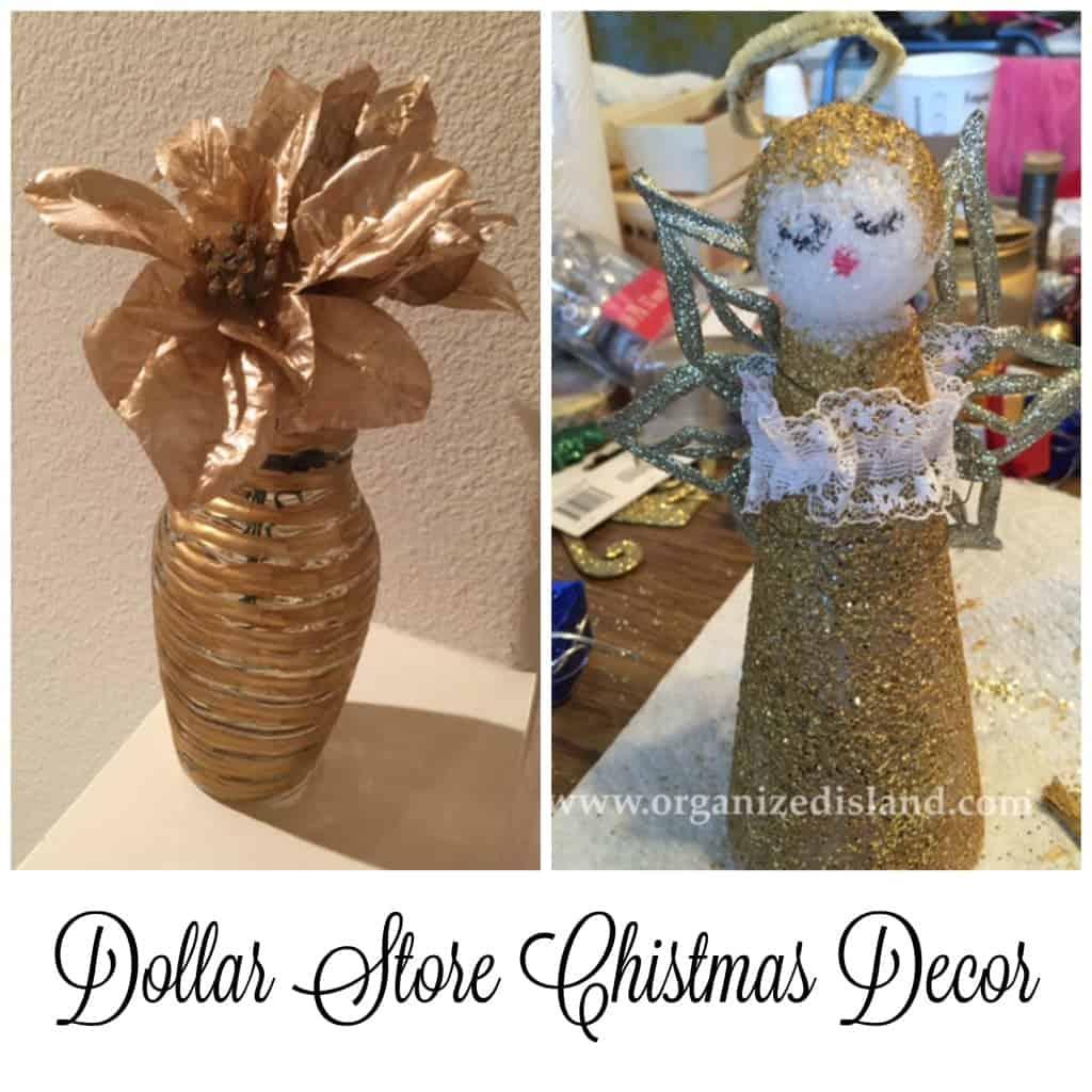 Christmas Decor Dollar Store Style!