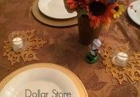 Dollar Store Thanksgiving Decor