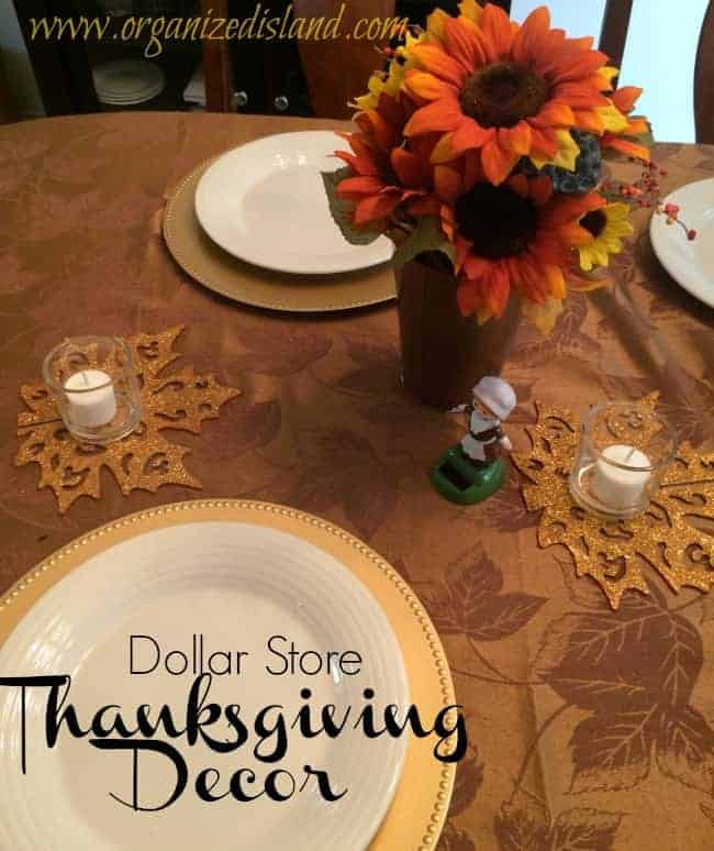 Dollar store thanksgiving decorations - Thanksgiving decorations ...