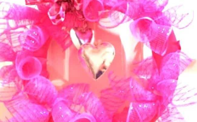cheap valentine's craft project