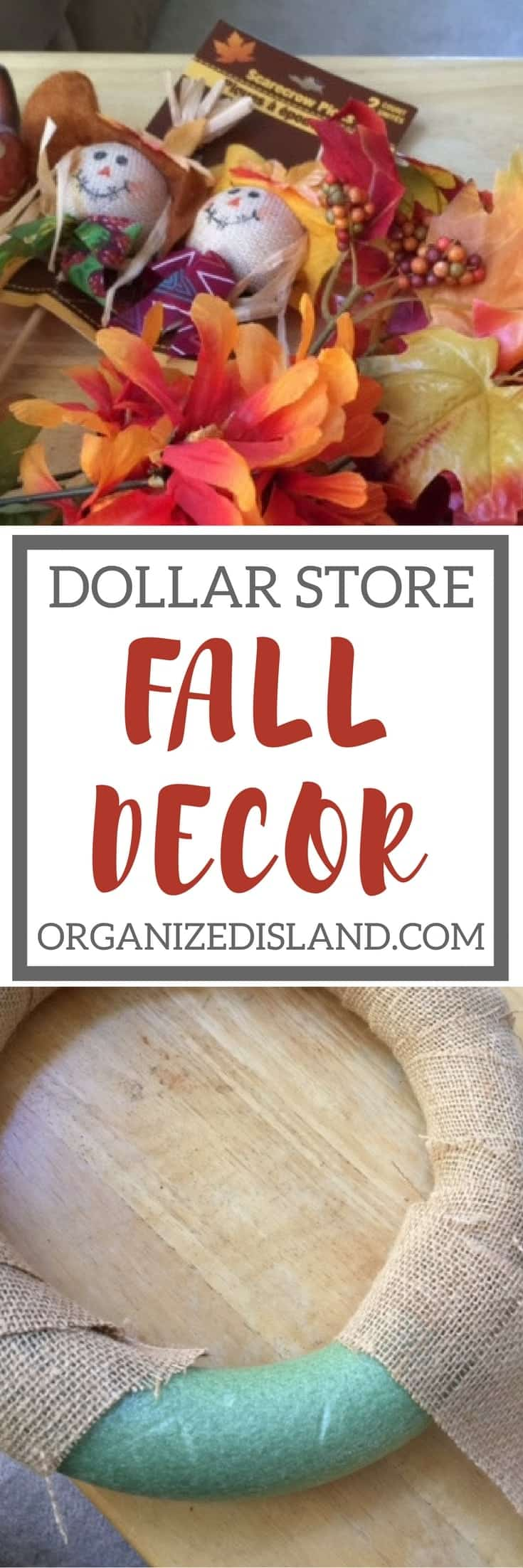 20 minute dollar store decor looking for some cheap fall decor ideas this site has tons of ideas izmirmasajfo Choice Image