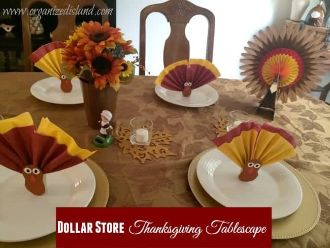 Dollar store thanksgiving decorations