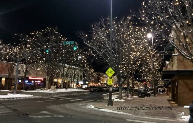 Downtown Fort Collins at Night