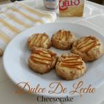 Dulce De Leche Cheesecake Cookies